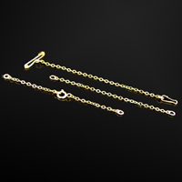 Rolled Gold Safety Chains